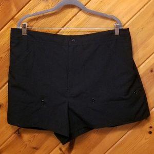 Black Swim Shorts by Le Cove